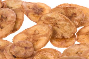 Banana Chips Isolated