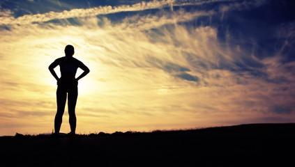 Beautiful Woman Runner