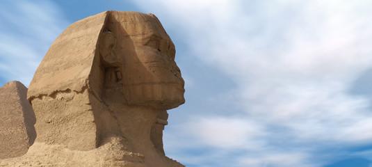 Sphinx in Giza Cairo Egypt