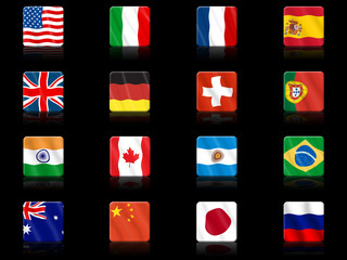 Nations icons