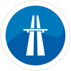 Highway web button