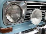 scheinwerfer von einem auto
