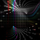 Fototapety Rainbow Circles Layout