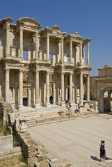 Celsus Library Ephesus Selcuk, Izmir Turkey
