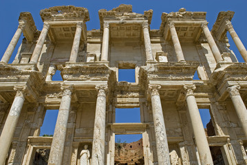 Celsus Library Ephesus Selcuk, Izmir Turkey