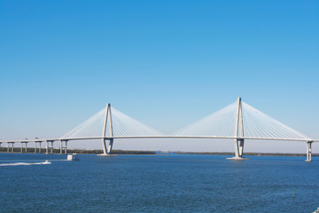 Arthur Ravenel Bridge in Charleston (Cooper Bridge)