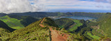 Path to a viewpoint at Sete Cidades, San Miguel, Azores poster