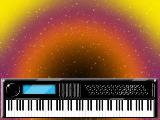 Tastiera Elettrica-Keyboard-Clavier