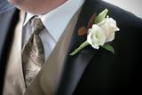 shirt, tie, vest, tux poster