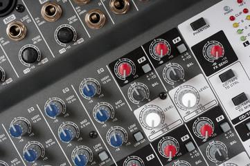 Audio control console