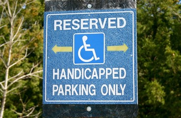 Reserved - Handicapped