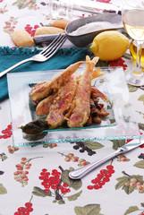 Triglie con salsa di capperi di Pantelleria - Secondi di pesce