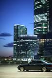 Modern urban business architecture