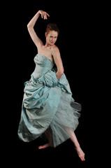 Ballerina performing