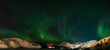Panorama of Aurora polaris