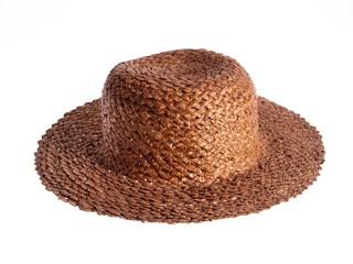 Straw Hat, conceptual studio isolated photo