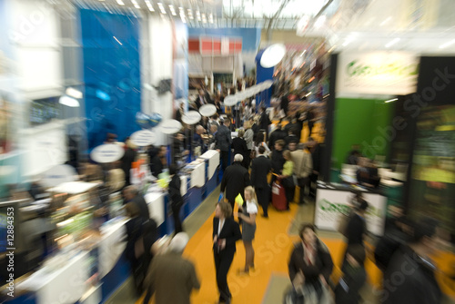 Croud at exhibition - 12884353