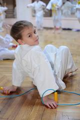 boy in sports hall