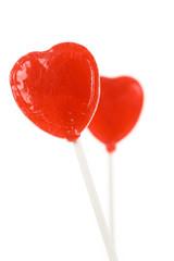 Red Heart Shape Lollipop