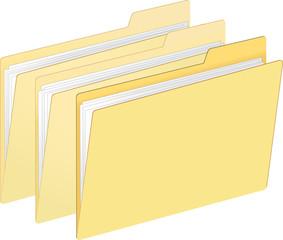 Plain File Folders