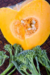 Pumpkin And Broccolini