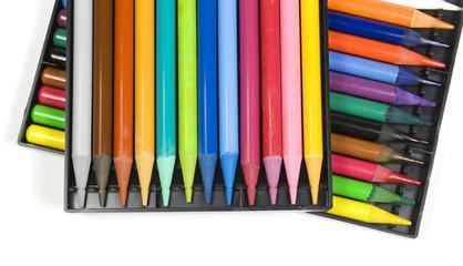 Twenty four color pencils