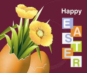 Easter Concept Illustration