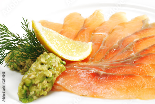 Appetizer - Light-solted Atlantic Salmon