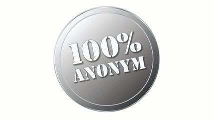 Siegel oder Stempel mit 100% anonym