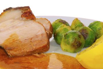 Schweinebraten - pork roast 04