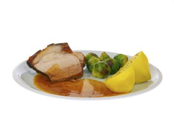 Schweinebraten - pork roast 05