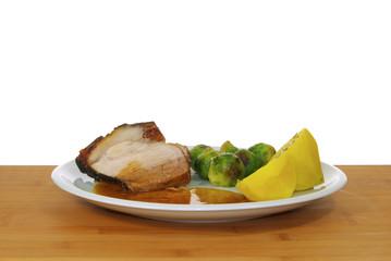 Schweinebraten - pork roast 07