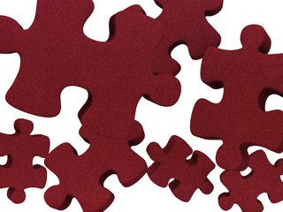 Puzzles red