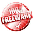 100% Freeware Button