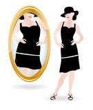 Fototapety Mirror reflection