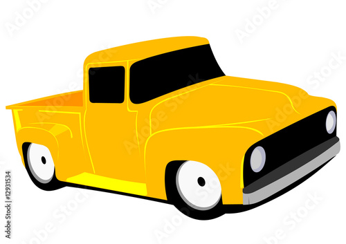 classic american low rider vector - version 1