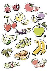 fruits divers