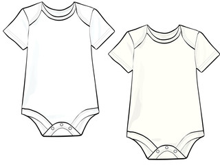 Baby Bodysuit illustration
