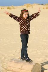 victoire sur la plage