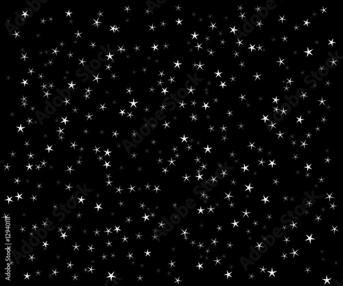 The star vector night sky