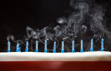 Smokey Blown Out Candles