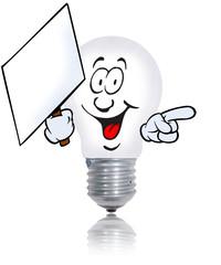 ampoule affiche