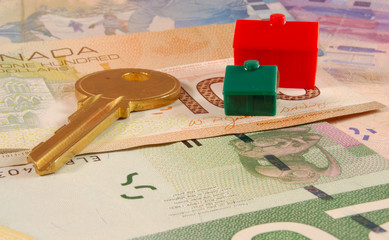 Key / Houses on Canadian Dollar