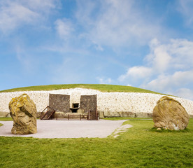 World Heritage Newgrange megalithic passage tomb