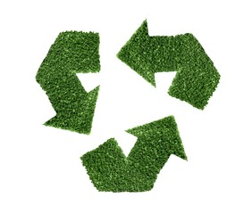 Recycle green symbol illustration