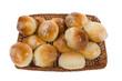 sweet buns in basket