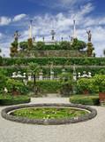 Fototapety Gartenträume auf der Insel Isola Bella