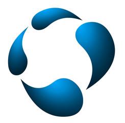 Blue Company Logo Icon