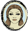 Woman Face Design