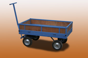 Chariot used for deliveries in non traffic areas.